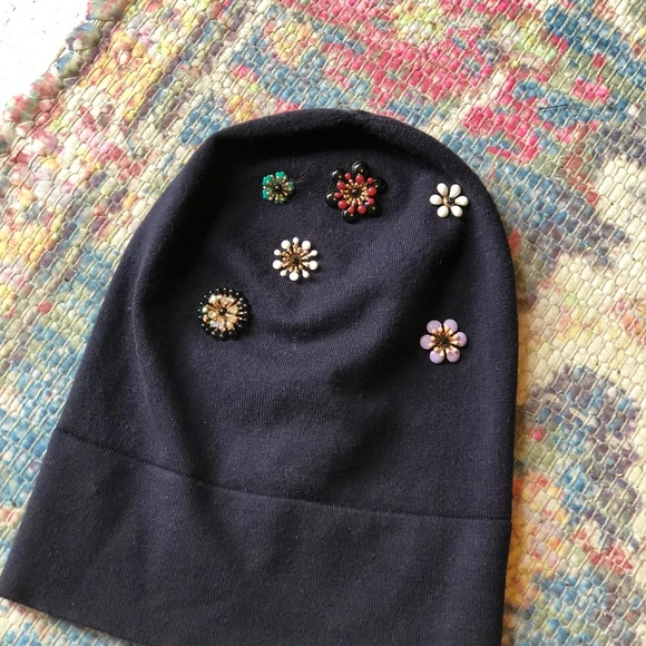 5cbd218cb1e Anthropologie  echo  Embellished Beanie